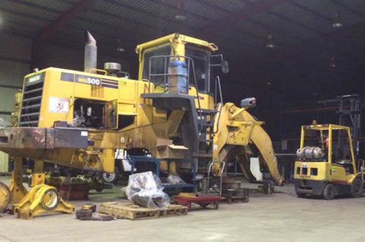 REPAIRS HEAVY EQUIPMENTS SERVICES